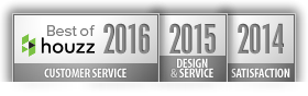 Architect Award Best Of Design Customer Service and Satisfaction 2016 2015 2014