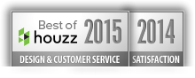 Architect Award Best Of Design and Customer Service 2015 and Satisfaction 2014