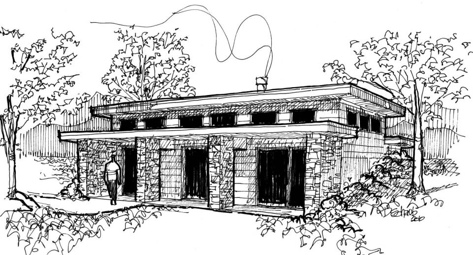 architectural building sketches. Why You Should Hire An Architect: Architect\u0027s 6 Steps To Home Building Architectural Sketches E