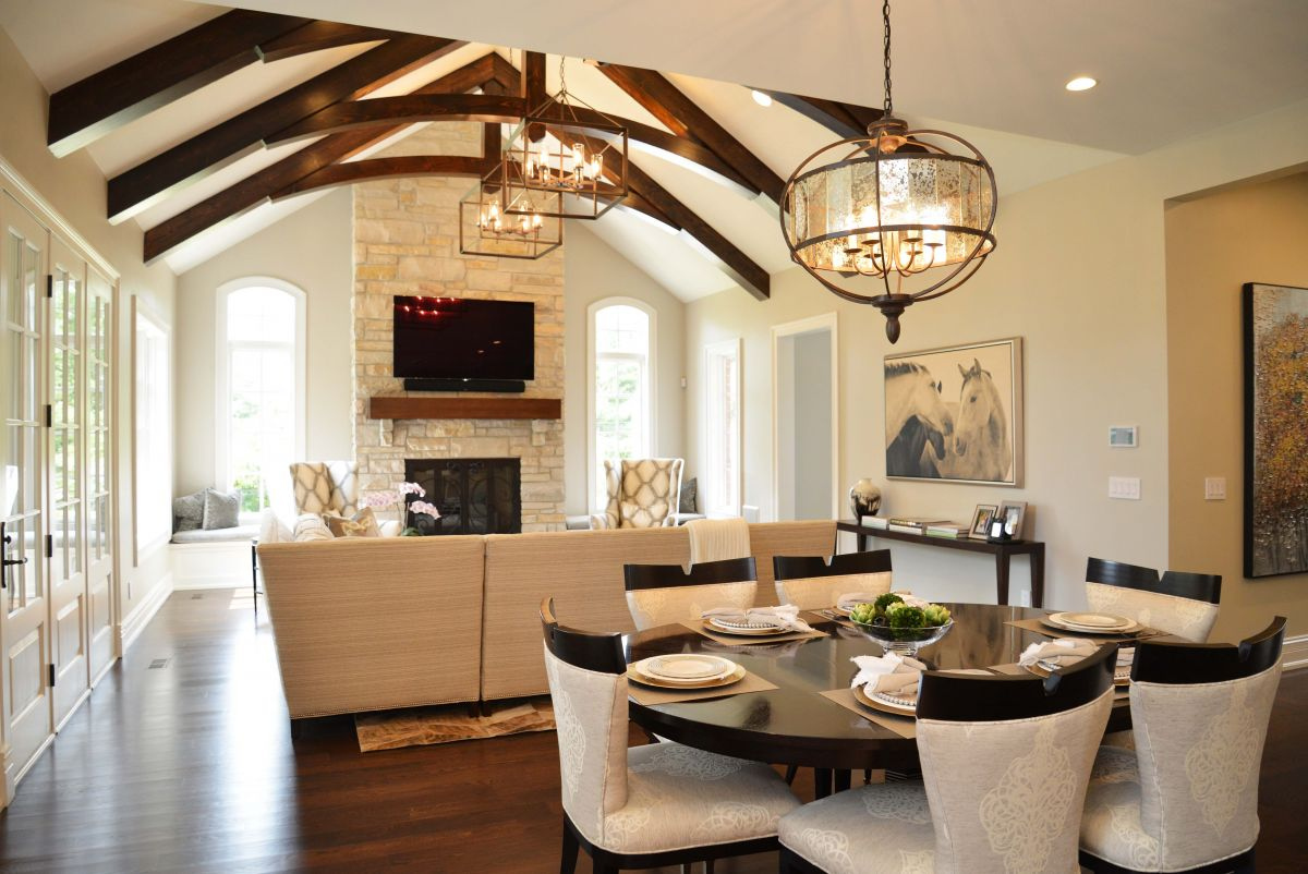 Bridleview Breakfast Room & Hearth Room