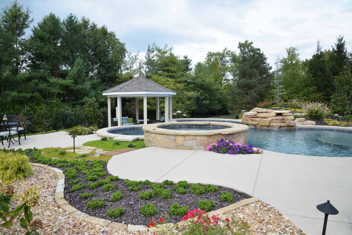 Bridleview Pool and Landscaping