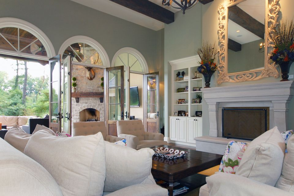 St Louis Home Family Room Design