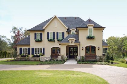 St Louis Custom Luxury Home Design Exterior